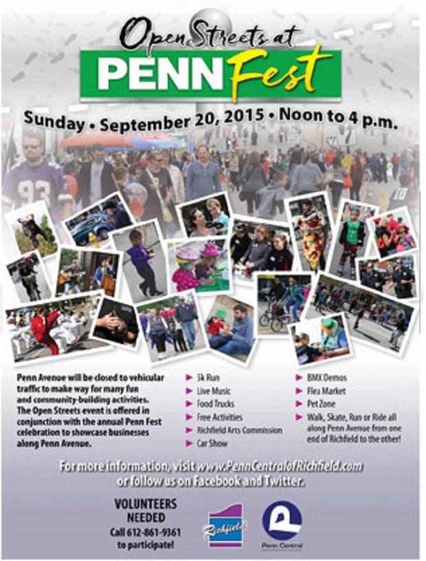 Penn Fest 2015 Flyer
