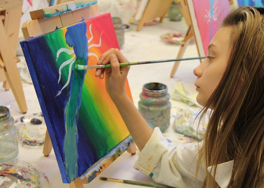 """The Rum River Art Center has classes for you to """"brush up"""" on your painting and other skills."""