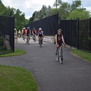 A remarkable experience for art and bike lovers alike, riding the Mississippi River Trail through Fridley's art scene.