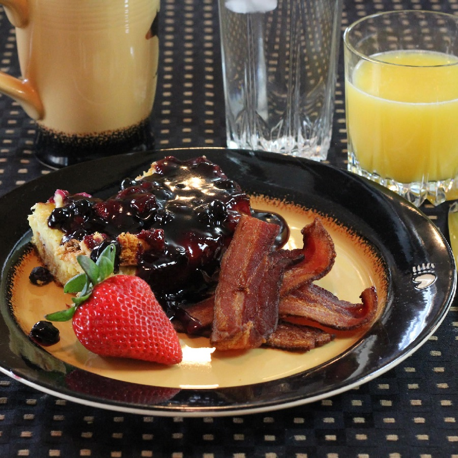 Enjoy a special Leech Lake B & B breakfast before your day of fun.
