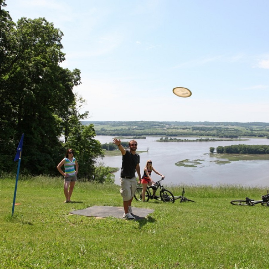 Looking for disc golf fun? Here in the Twin Cities Gateway Area find several scenic and challenging disc golf parks, all easy to access from the bike friendly roads and trails there.