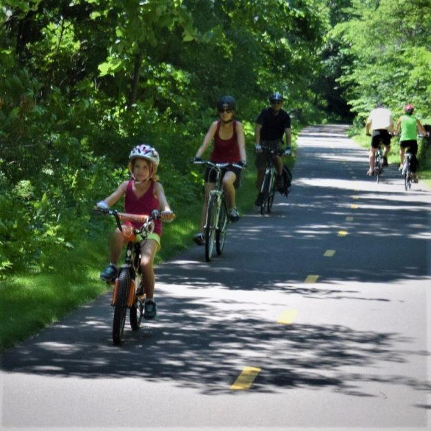 A family fun bike ride on the Brown's Creek Trail out of Stillwater.