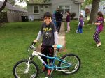 Free Bikes for Kids helps kid's smile with the 2016 season Bike Collection Day, on Saturday, October 8th, at the Mall of America.