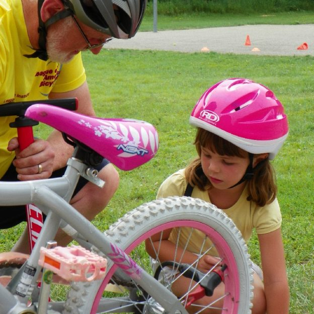 Help with a Wise Bike Wednesdays ABC Quick Check from a League of American Bicyclist Instructor, so biking to school is fun.