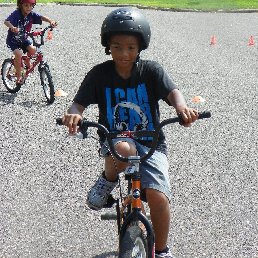 Help with a Wise Bike Wednesdays bike rodeo training course lead by instructors of BikeMN, so biking to school is fun.