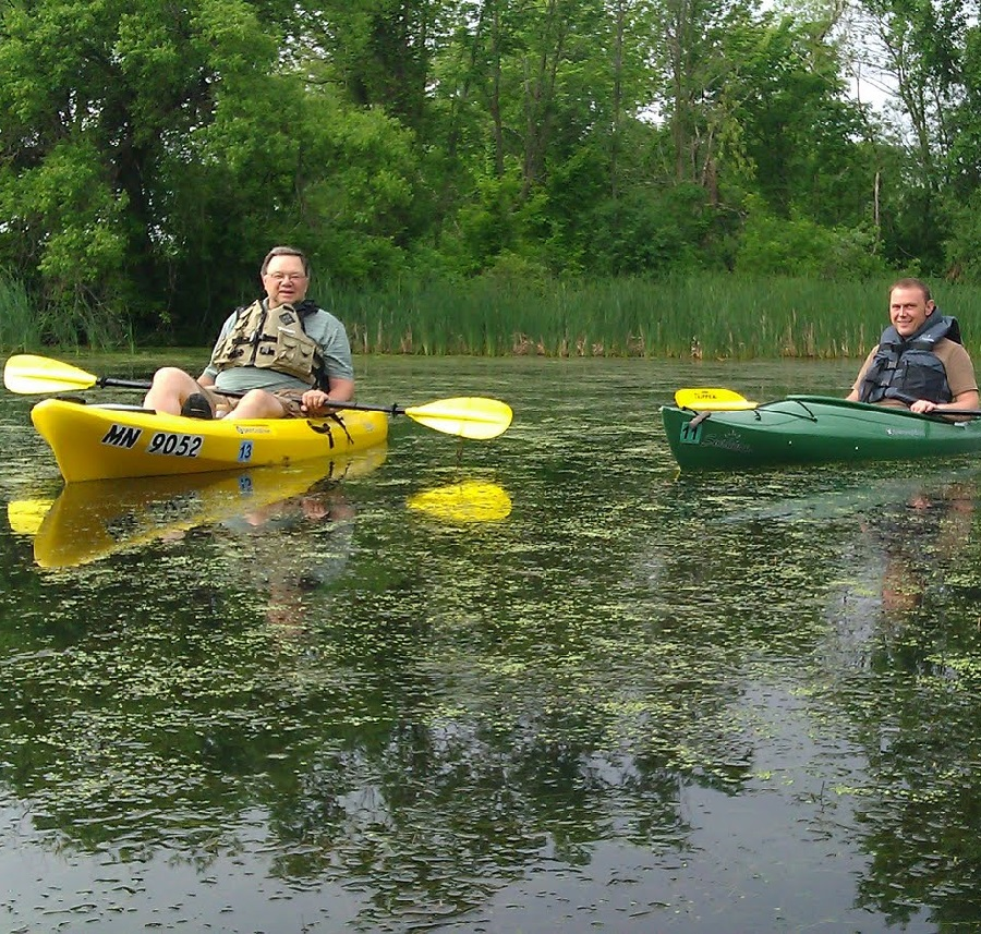 Paddling the Twin Cities Gateway's Rice Creek Chain of Lakes is a wildlife-rich experience to remember.