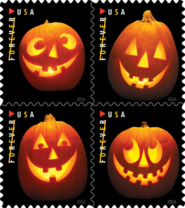 Here is the new Forever Halloween stamp that kicks off the Anoka, MN - Halloween Capitol of the World celebrations