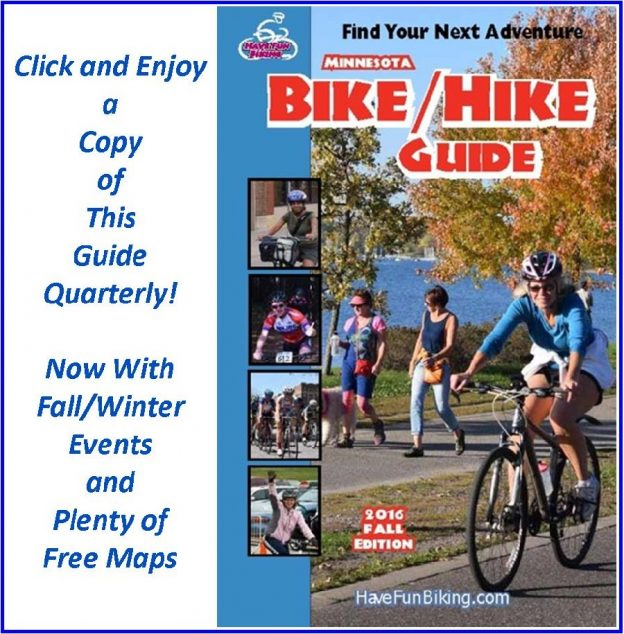 The fall Minnesota Bike/Hike Guide is now live digitally.