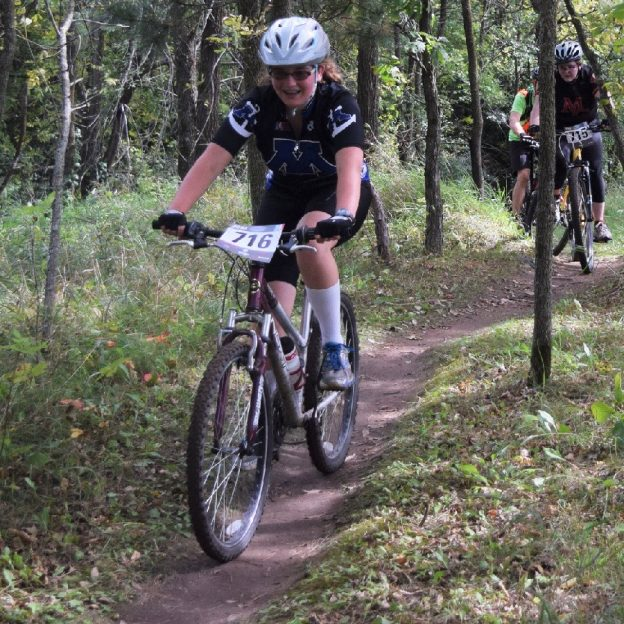 Another weekend of Minnesota H.S. Mountain Biking Fun as this Minnetonka team demonstrates.
