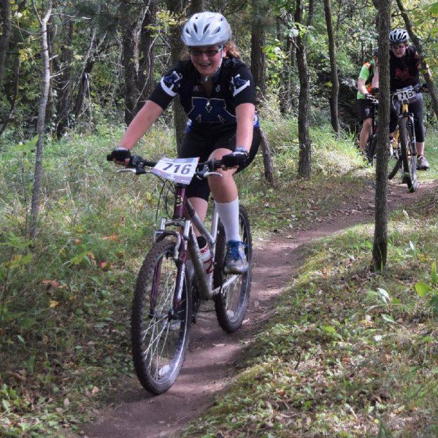 Another weekend of Minnesota H.S. Mountain Biking Fun as this Minnetonka team demonstrates.