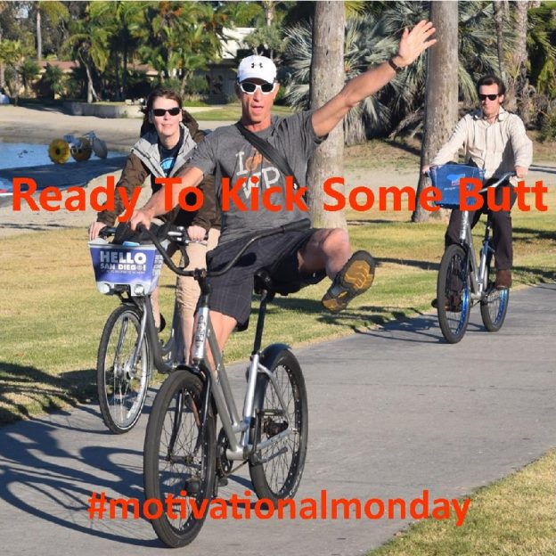 This Motivation Monday cyclist demonstrates his enthusiasm as he attend the Bike Tourism Conference, held in San Diego, CA last year.