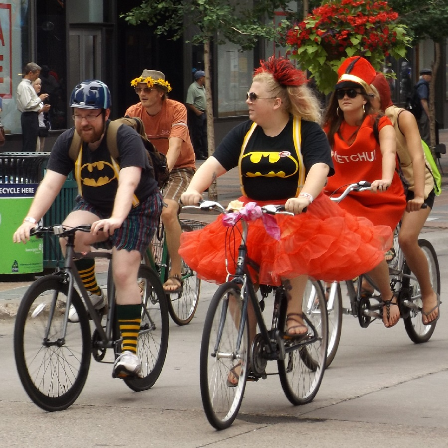 Choosing a bike friendly Halloween costumes can make your #nextbikeadventure memorable.