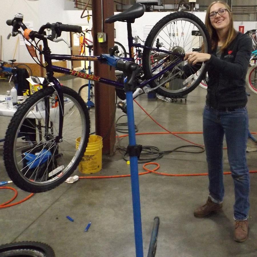 Proper bike storage