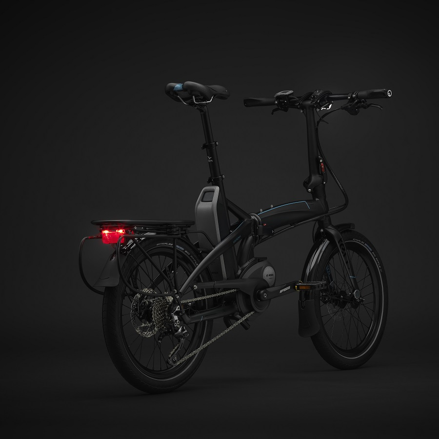 Tern is launching the Vektron*, a folding bike on Kickstarter that combines the best-in-class compact cycle technology with a leading electric drivetrain.