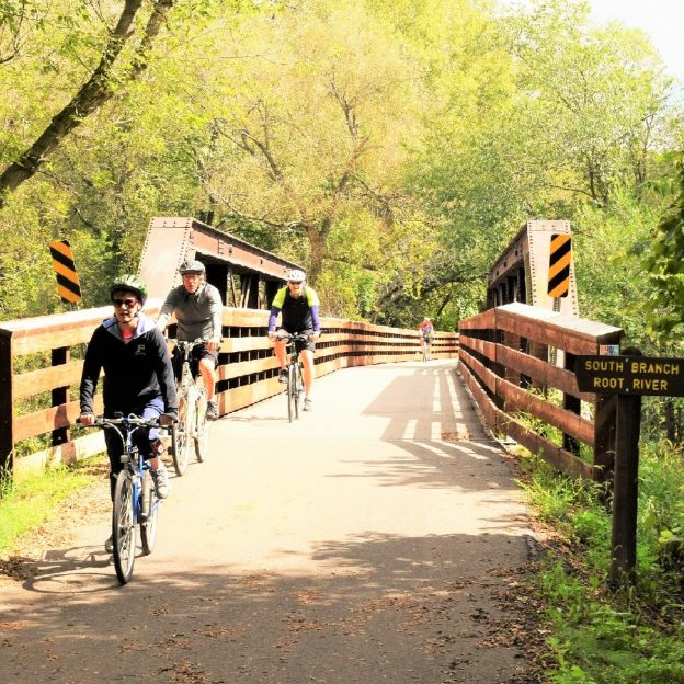 With fall colors still prevalent and the continued mild cycling temps for biking in Southeast Minnesota, where the Root River Trail and quite county roads are ready for your #nextbikeadventure.