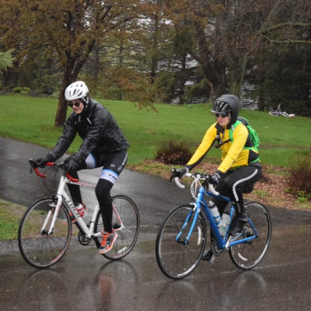 With fall foliage colors disappearing, these cyclists are still finding plenty of November bike events.
