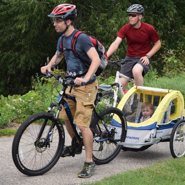 One last look at the 2016 summer bike riding season in Minnesota, as the winter fun begins.