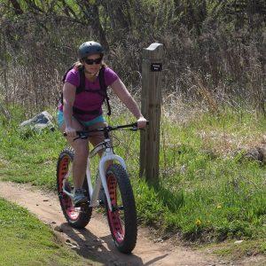 Photo represents Fat Bike Etiquette vs. Rules of the Fat Bike Trail.