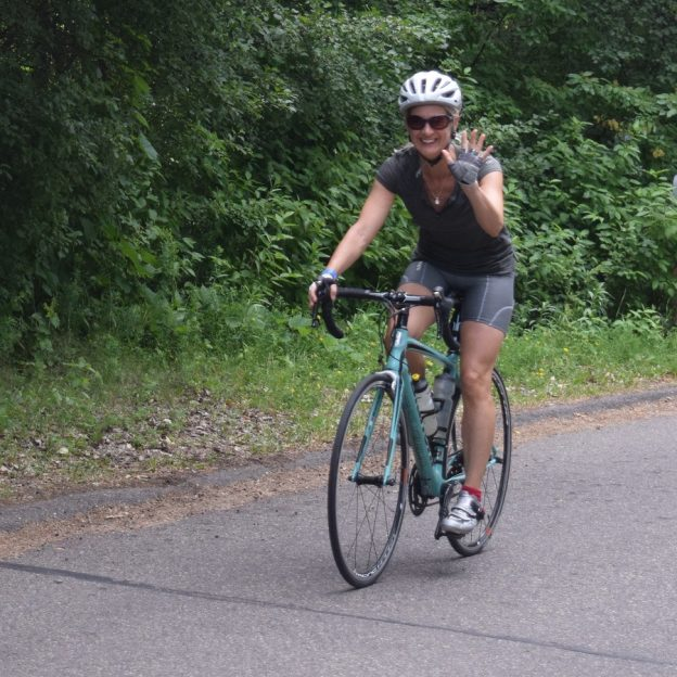 Miles of smiles Sunday celebrates another beautiful day on your bike.