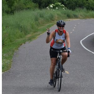 Having fun riding the trails and roads around Hutchinson MN, located just west of the Twin Cities on the Luce Line State Trail.