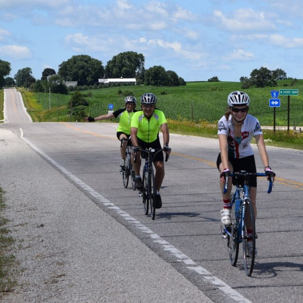 This Tuesday we look back on when we were treking on during the Root River Bluff Bike Ride last summer. We're bringing it back again this year!