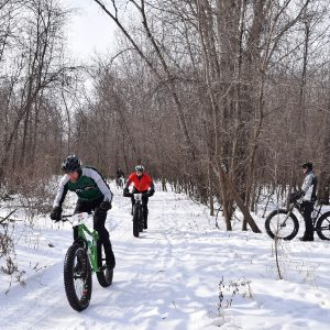 Flashback Friday to last winter in the Minnesota River Bottoms.