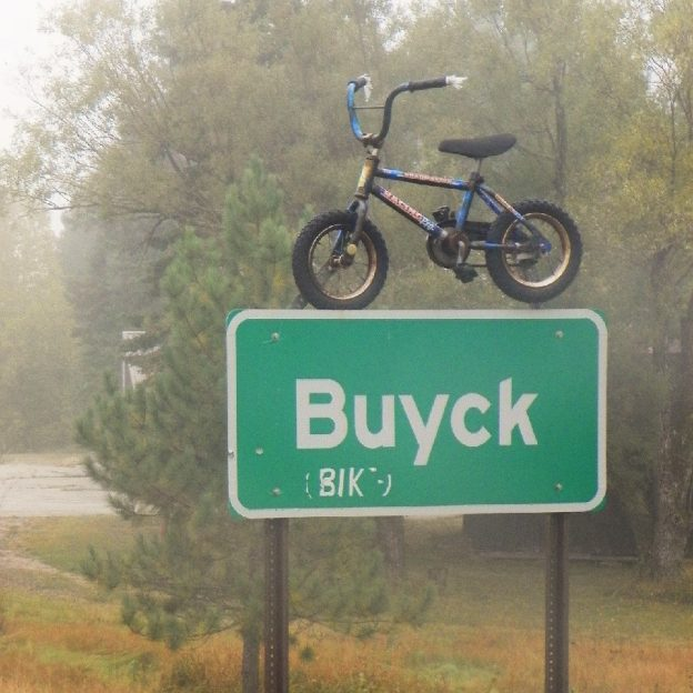 Ever wonder how to pronounce this wacky town name, Buyck?