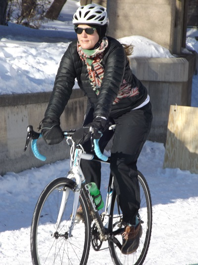 A growing number of cyclists see a winter commute as another opportunity to be more environmentally friendly .