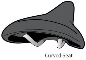The right seat curved