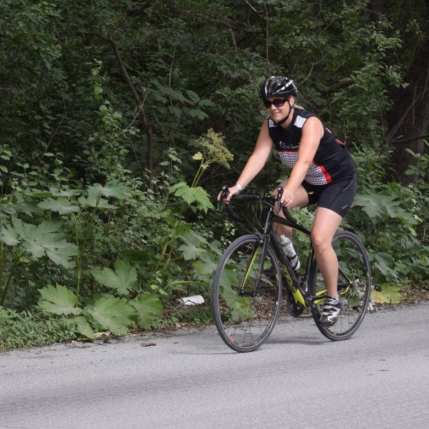 Have you stopped to think about how a healthy life could be considered a bike trail? The only difference is we can't map this trail ahead of time.
