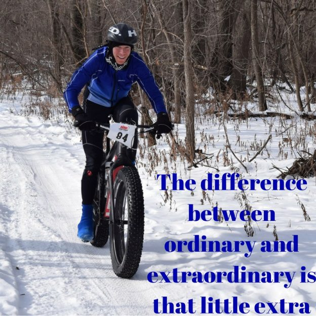 """The difference between ordinary and extraordinary is that little extra.""- Jimmy Johnson. This Monday, don't be ordinary, be extraordinary!"