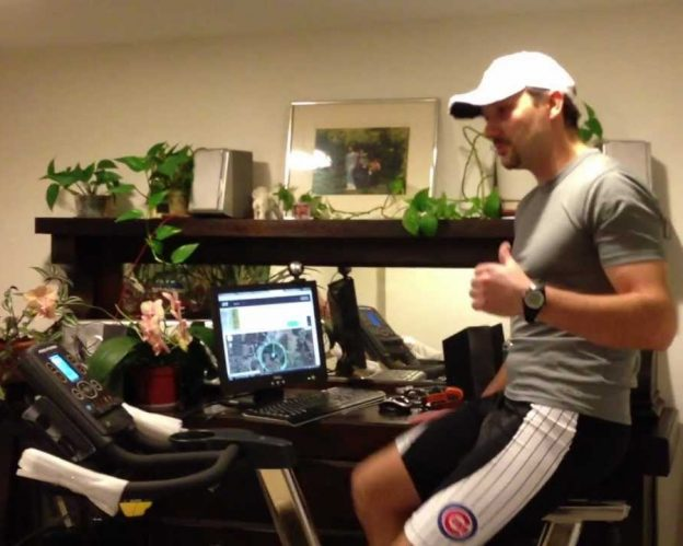 When the weather outdoors is questionable, indoor biking in the comfort of your home is the next best thing.