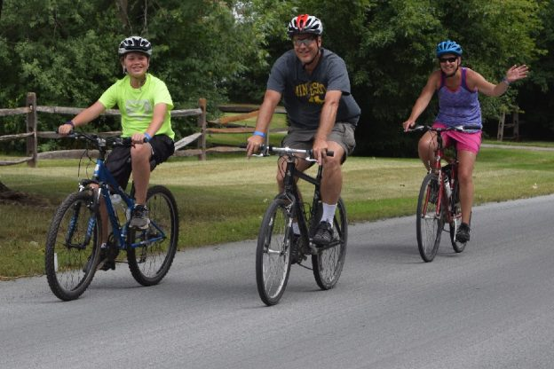 Waconia is a family friendly bike destination a few minutes west of Minneapolis.