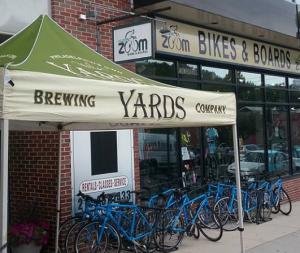 renting a bicycle bike shop