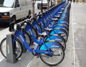 renting a bicycle citibike