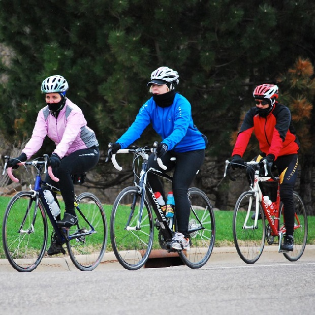 We've made it back to the cooler temps today, feels like winter is still here. So make sure you're bundled up if you get out on your bike.
