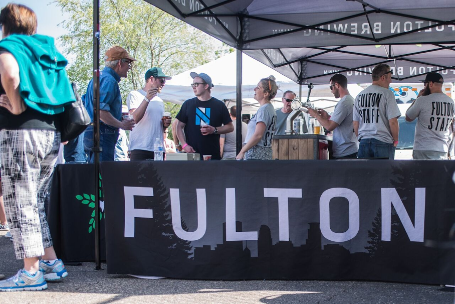 "The free block party, open to all. highlights the unveiling of Session IPA, called ""HopstarParty,"" along with many of Fulton's other favorite brews."
