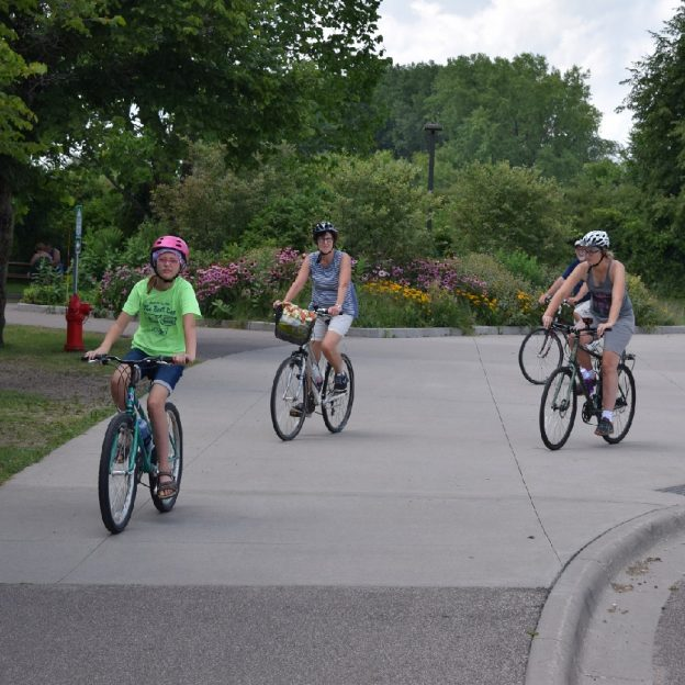 AA great destination for a bike adventure riding the trails and bike friendly roads in the Twin Cities Gateway.