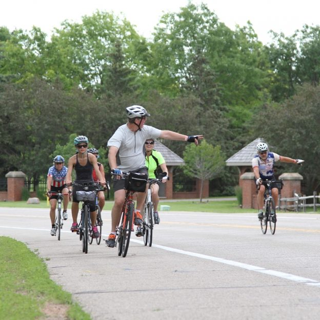 With the warm weather out there, make sure when driving that you pay attention to cyclists. So be alert, share the road, and enjoy the nice weather!