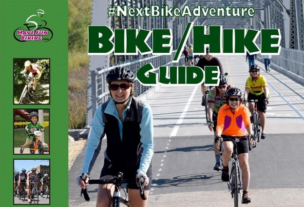 Cover of the 2017 Spring Minnesota Bike Guide.