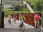 From Giants Ridge, the Mesabi Trail Towns offers history and great biking adventures.