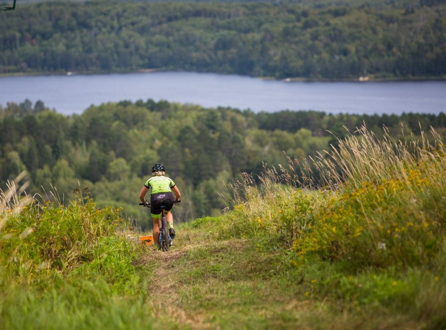 With several mountain bike parks there is something for every skill level.