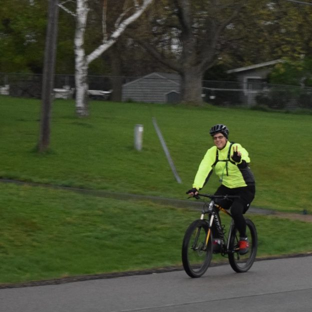 With ten days into 30 Days of Biking, dressing for the elements is critical to having fun!