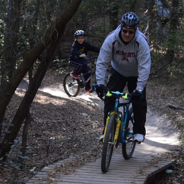 Miles of Smiles Sunday and its another 30 Days of Biking and a great time to kit the trail.