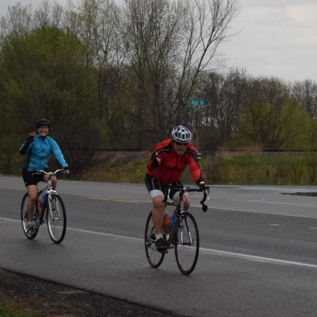 It looks like the final day of 30 Days of Biking and the MN Ironman Bike Ride will stay dry until around 2 p.m. according to several weather forecasts