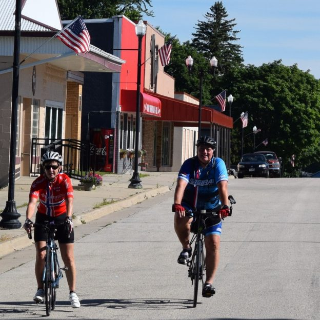 Its number 22 of 30 Days of Biking and the perfect day to have some fun, getting in shape riding your bike from garage sale-to-garage sale along the Root River Trail.
