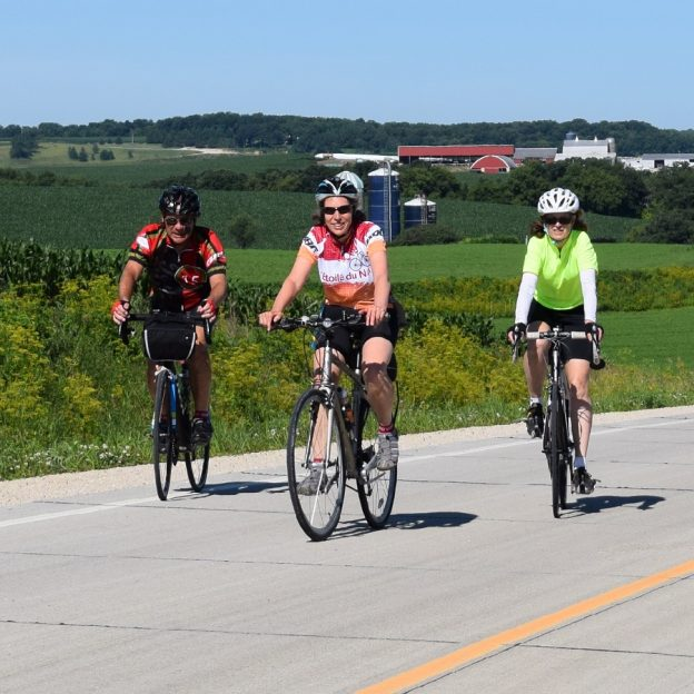 Join old and new friends on the Root River Bluff & Valley Bicycle Tour, July 7,8 & 9th.