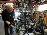 Ready for his tenth annual used bike sale, Rick Anderson has over 400 bikes primed to ride for your #nextbikeadventure