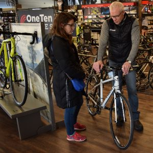 Give a call to the shops closest to you and verify they have the models you want to test ride.