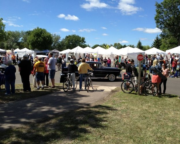 Consider biking to the Slice of Shoreview for a weekend of fun.